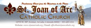 st joan of arc, catholic church, church, arvada, arvada colorado, divito dream makers, patron, volunteer, community involvement