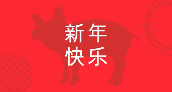 year of the pig, year, pig, chinese new year, new year, lunar new year, luck, lucky